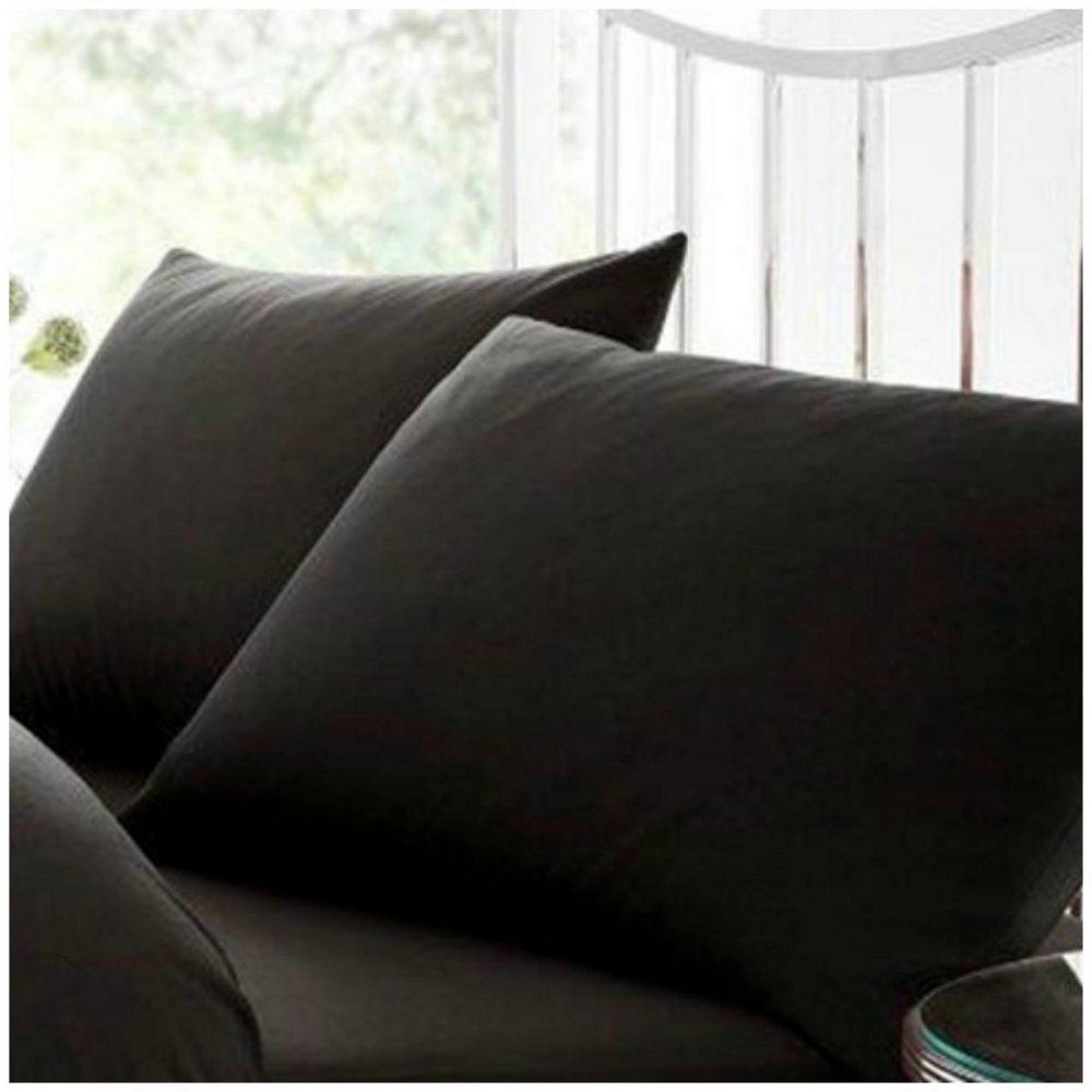 11020394 percale pillow case black 1 2