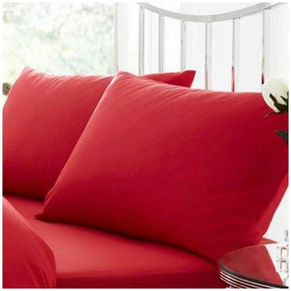11020417 percale pillow case red 1 2