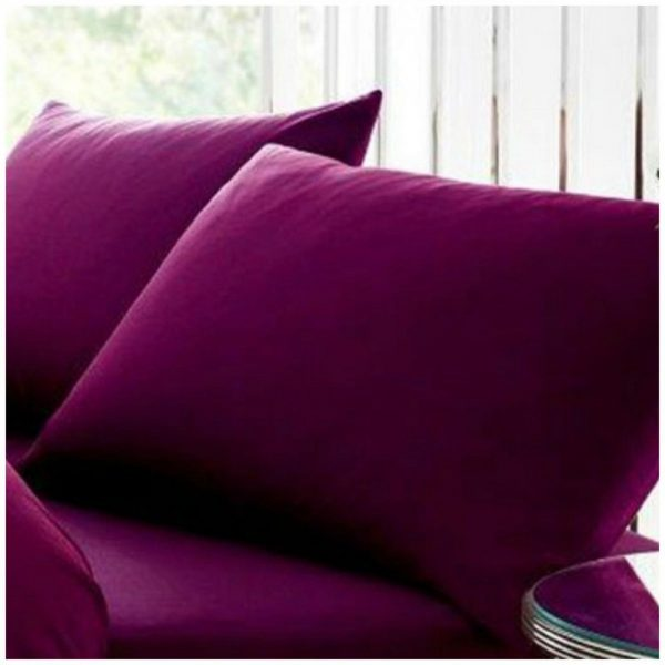 11020431 percale pillow case berry 1 1