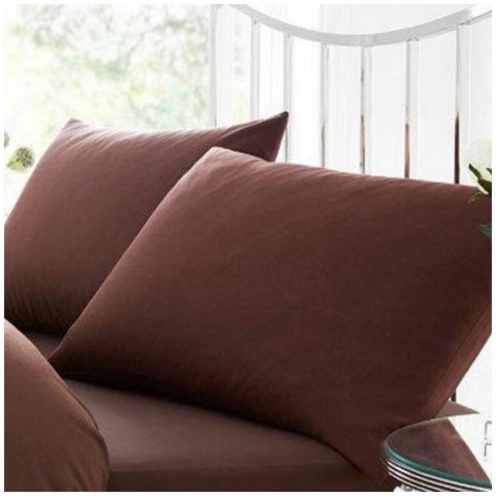 11020455 percale pillow case choco 1 2