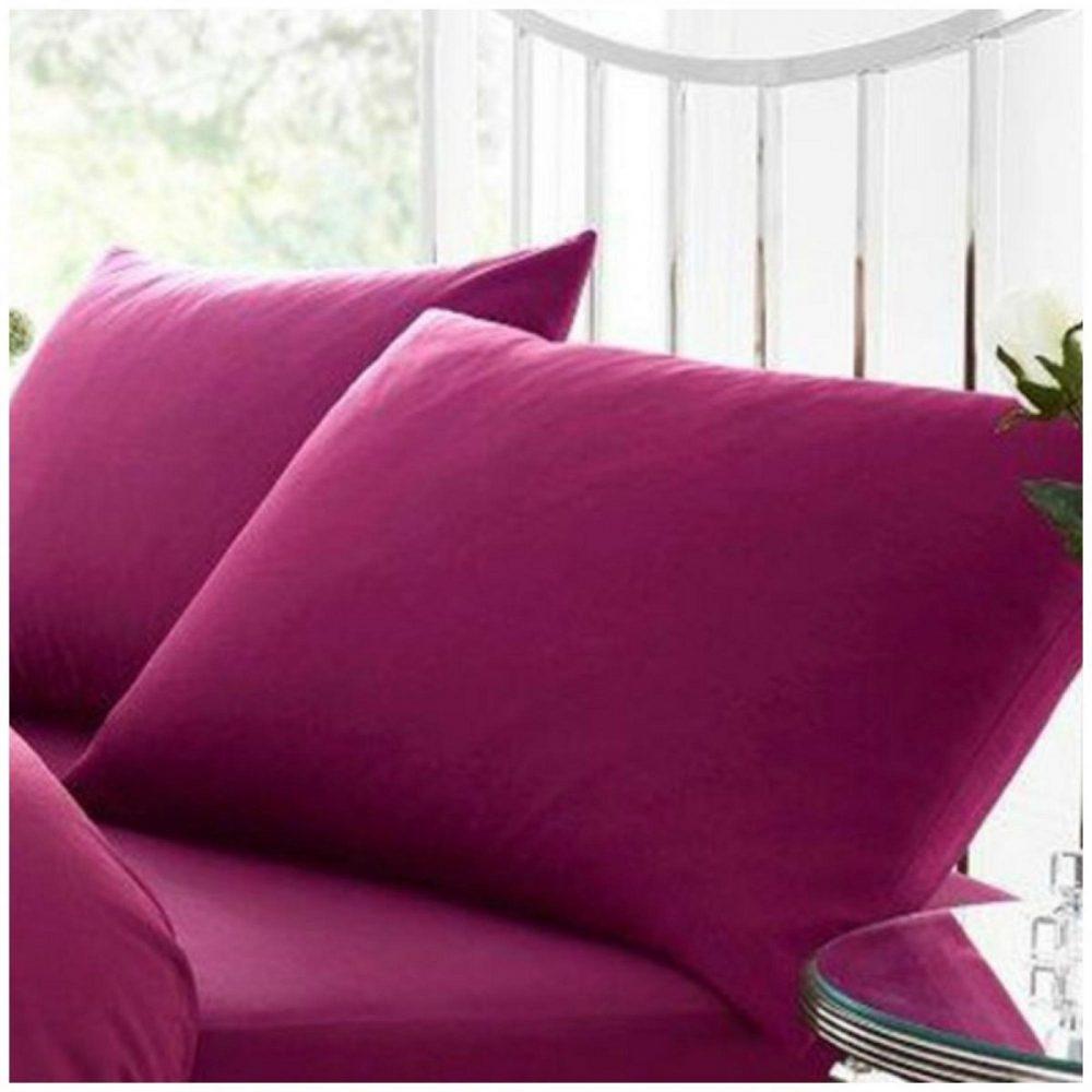 11020486 percale pillow case fuchsia 1 2