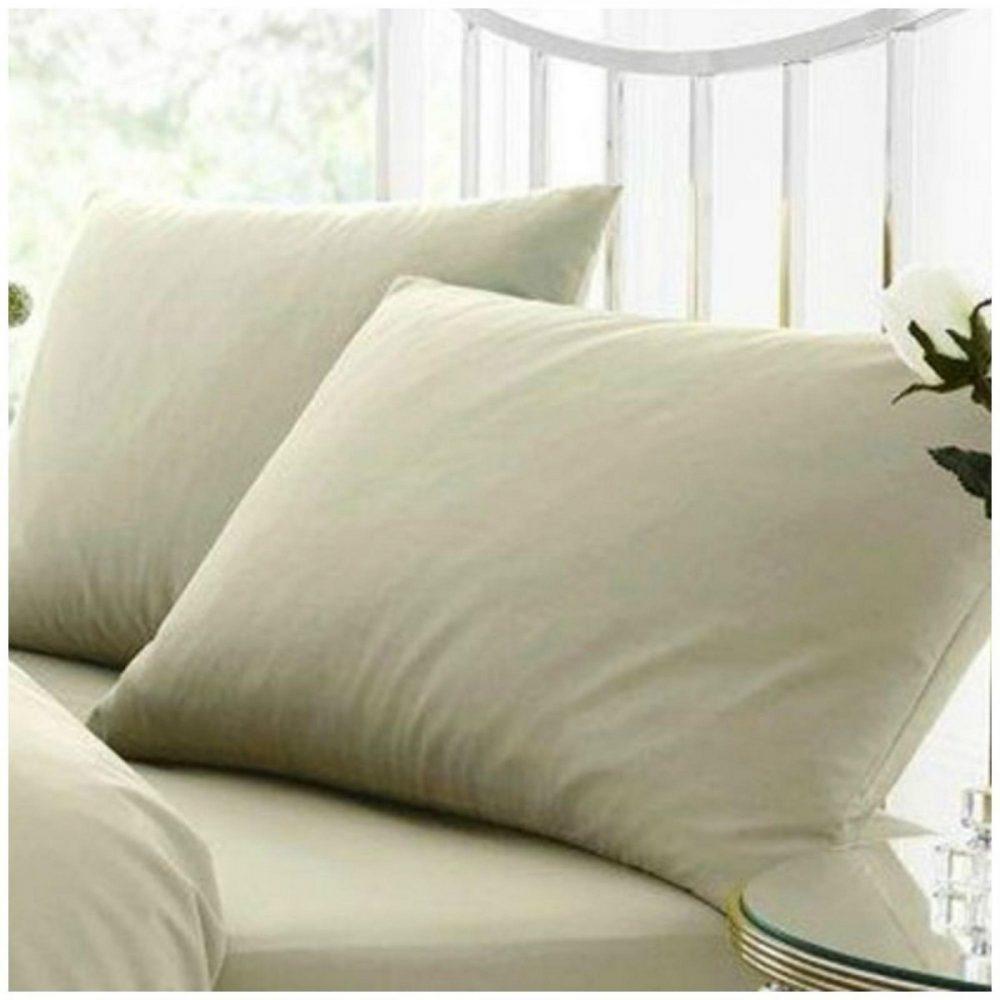 11021636 percale pillow case duck egg 1 1