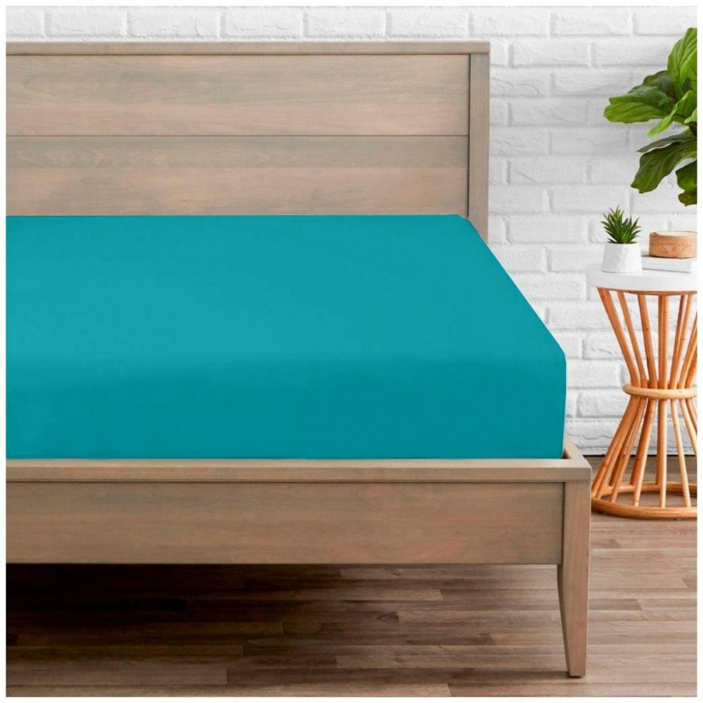 11041474 percale fitted sheet double teal 1 2