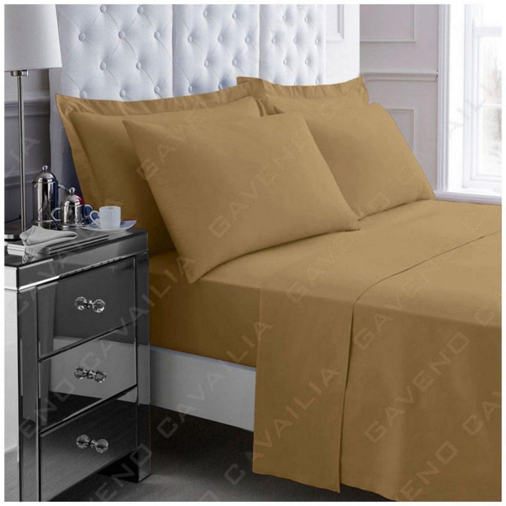 11058083 percale flat sheet double mocha 1 2