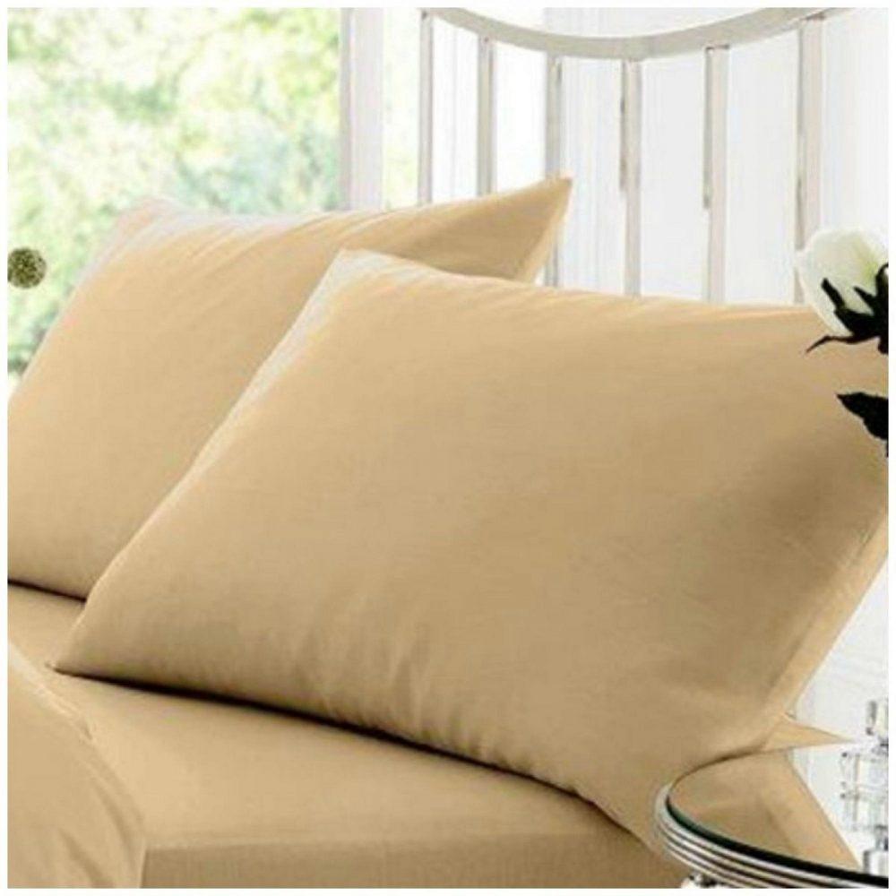 11058151 percale pillow case mocha 1 2