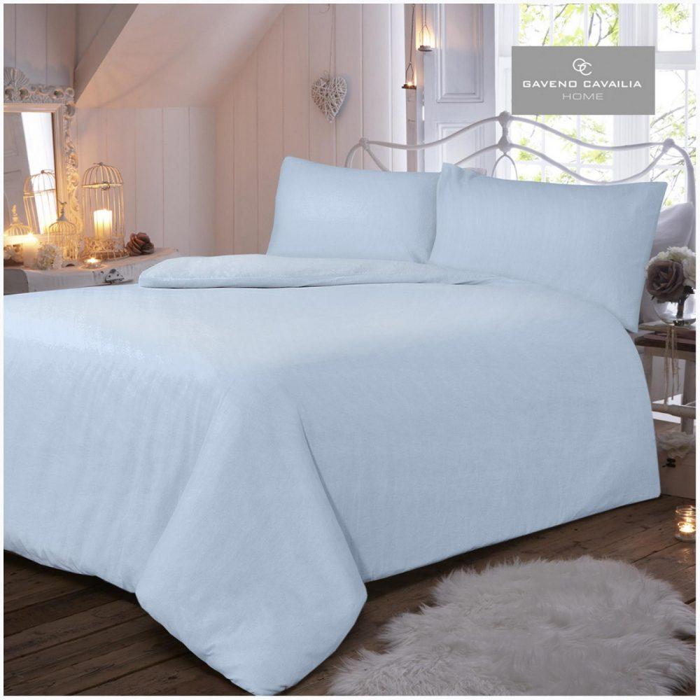 11065463 flannel plain duvet set double blue 1 2