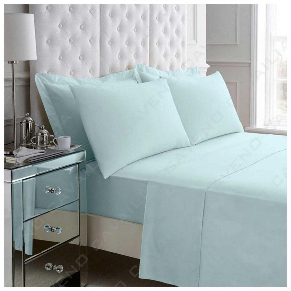 11074366 percale flat sheet double sorbet blue 1 2