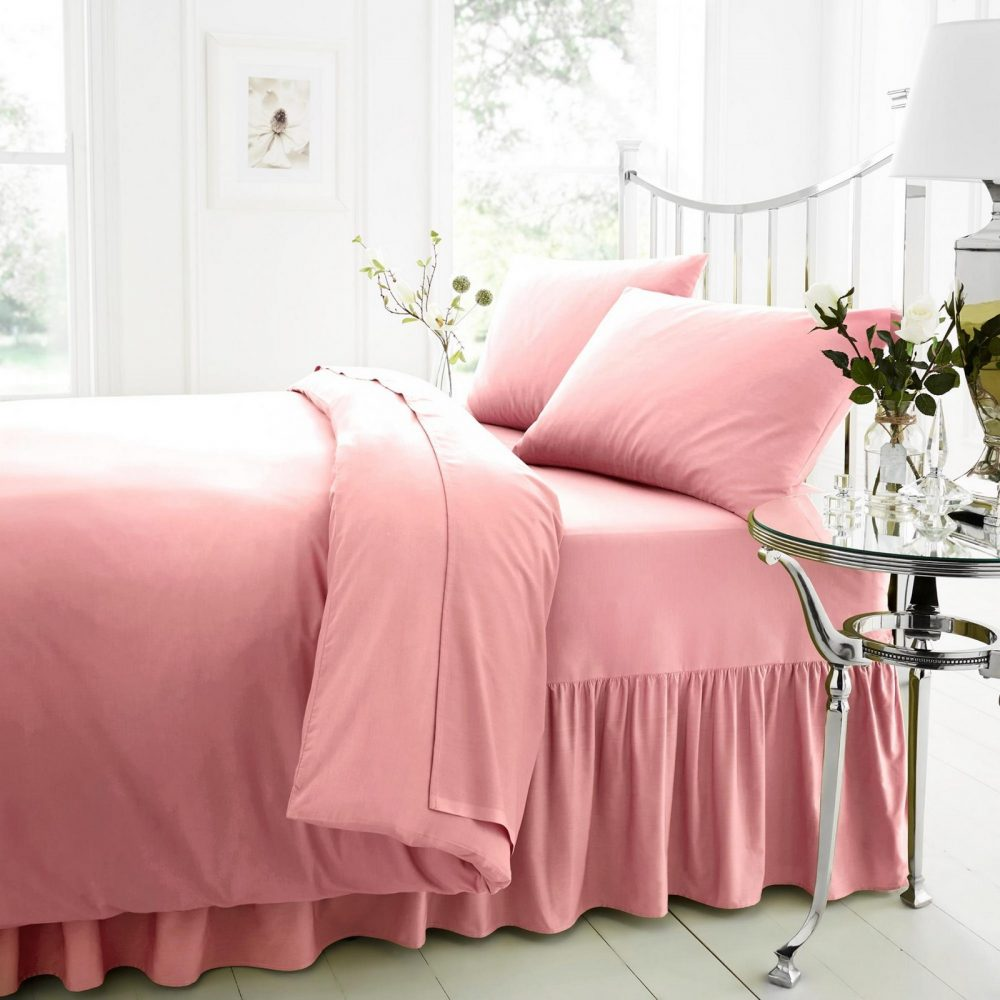 11079569 percale v pillow case pink old 1 1