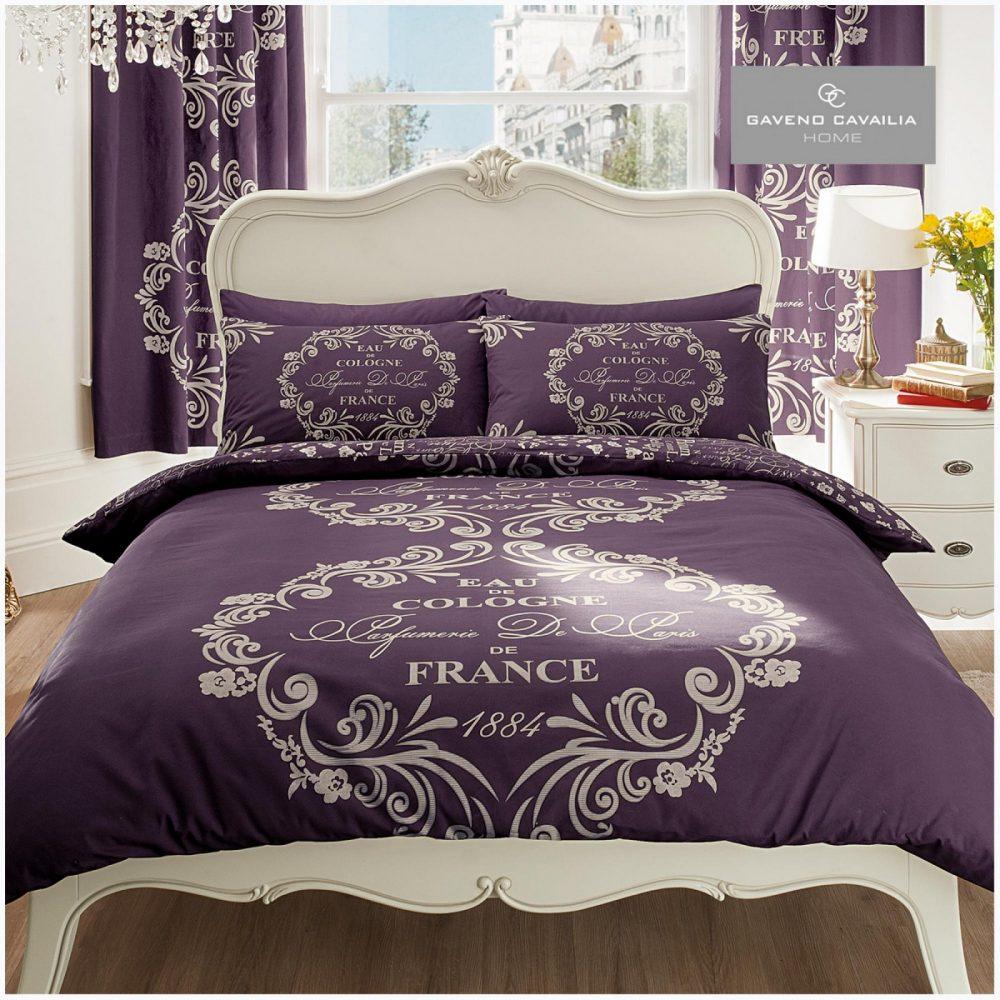 11080992 modern printed script duvet set double purple 1 1