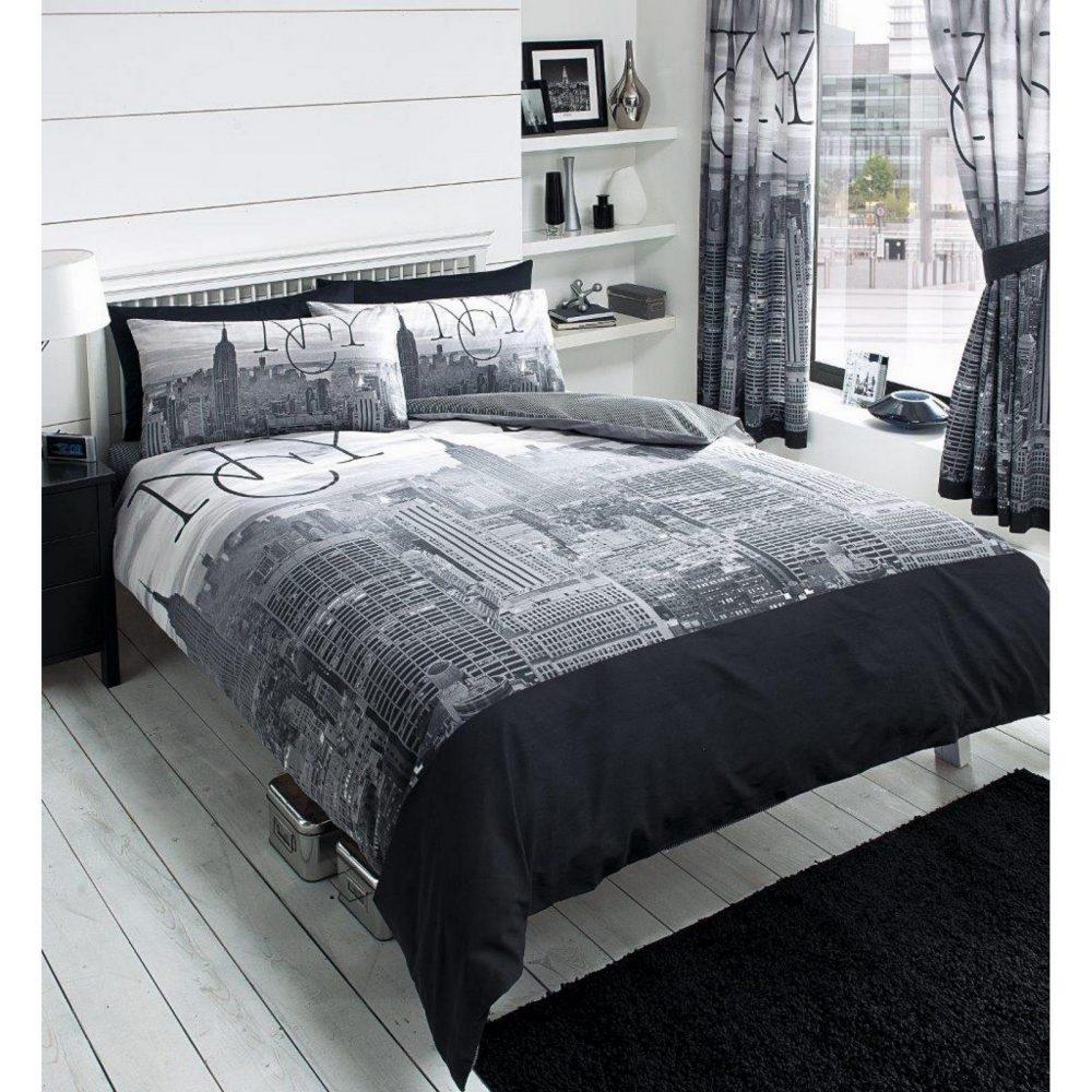11081371 modern printed nyc duvet set double 1 1