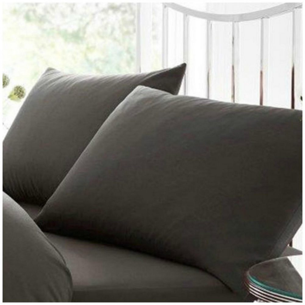 11082309 percale pillow case charcoal 1 2