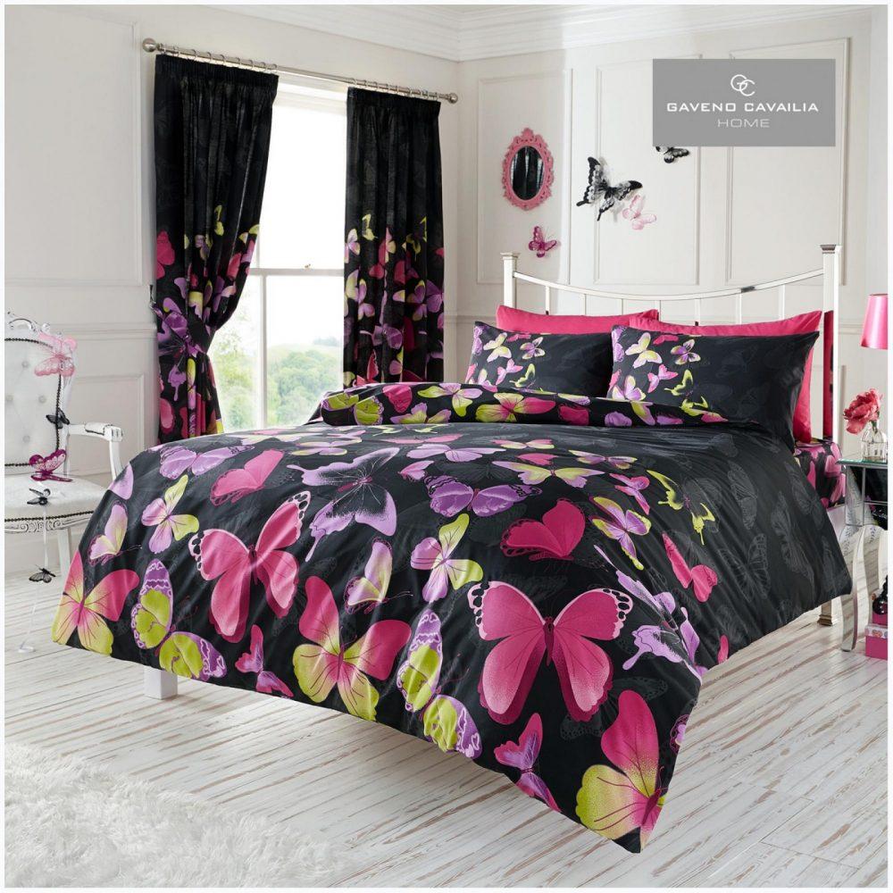 11088752 modern duvet set double butterfly black 1 1