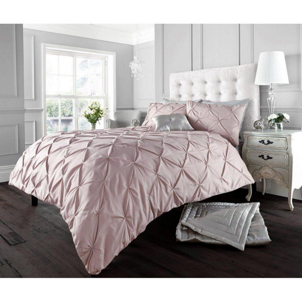 11091011 alford duvet set double soft pink 1 3