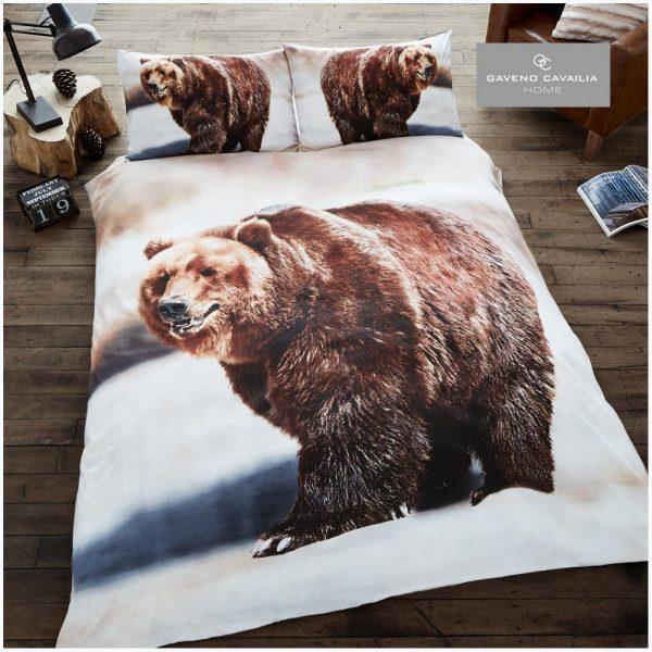 11099772 premium duvet set double 3d bear 1 2