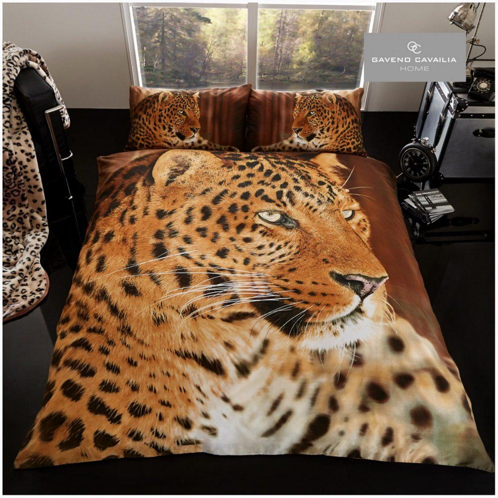 11099802 premium duvet set double 3d leopard 1 2