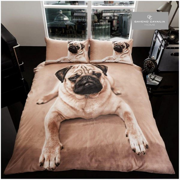 11099864 premium duvet set double 3d pug dog 1 2