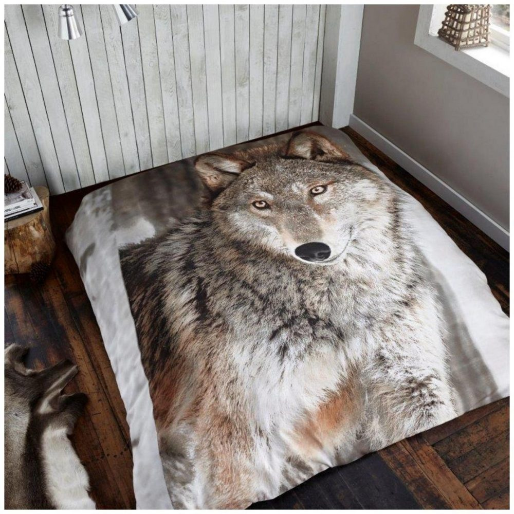 11101130 3d printed throw 150x200 wolf 1 2
