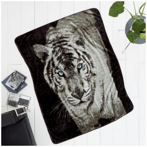 11101161 3d printed throw 150x200 white tiger 1 2
