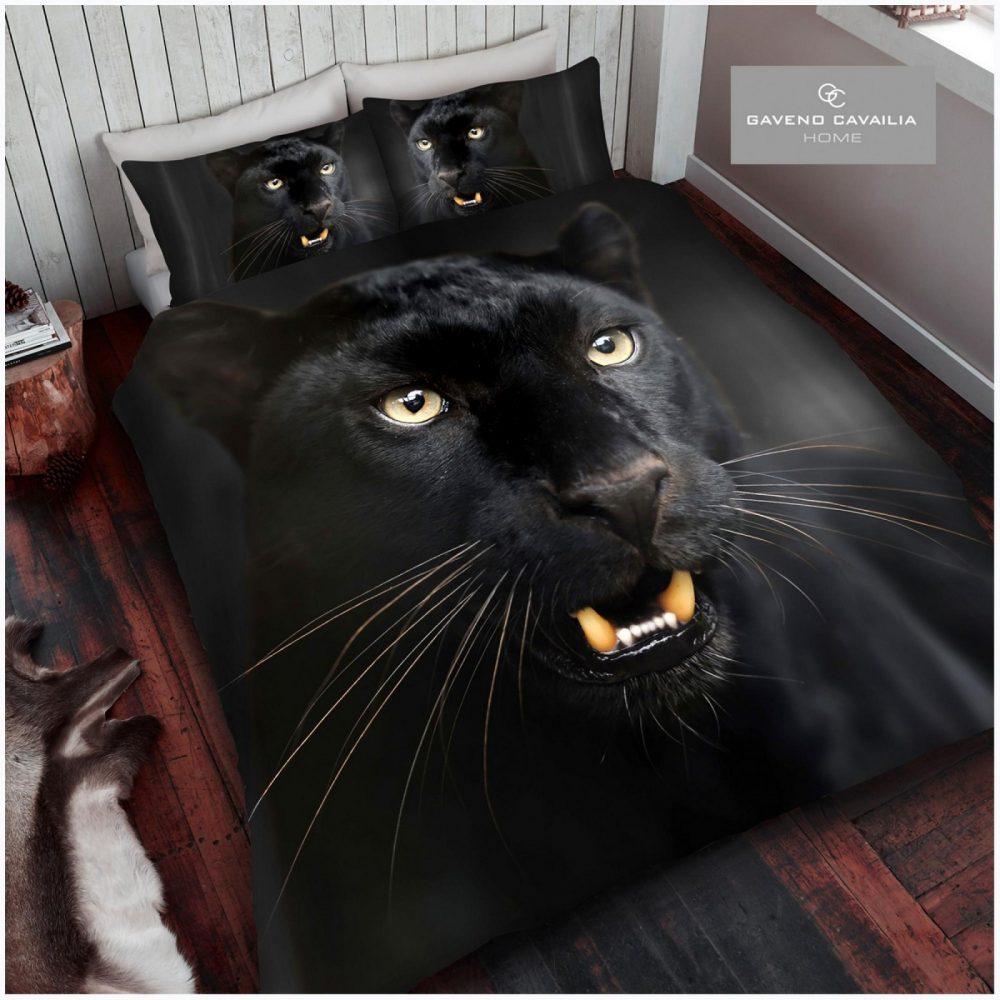 11108672 premium duvet set double 3d black panther 1 2