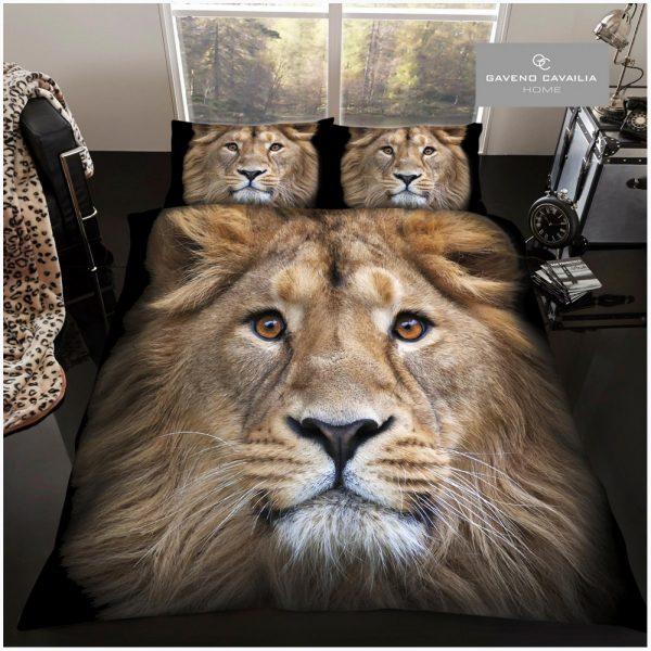 11108702 premium duvet set double 3d lion 1 2