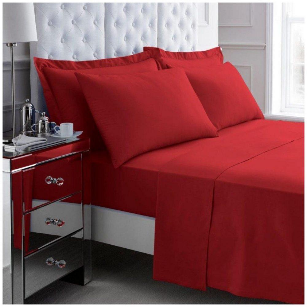 11108856 200 tc egyptian cotton duvet set double red 1 3