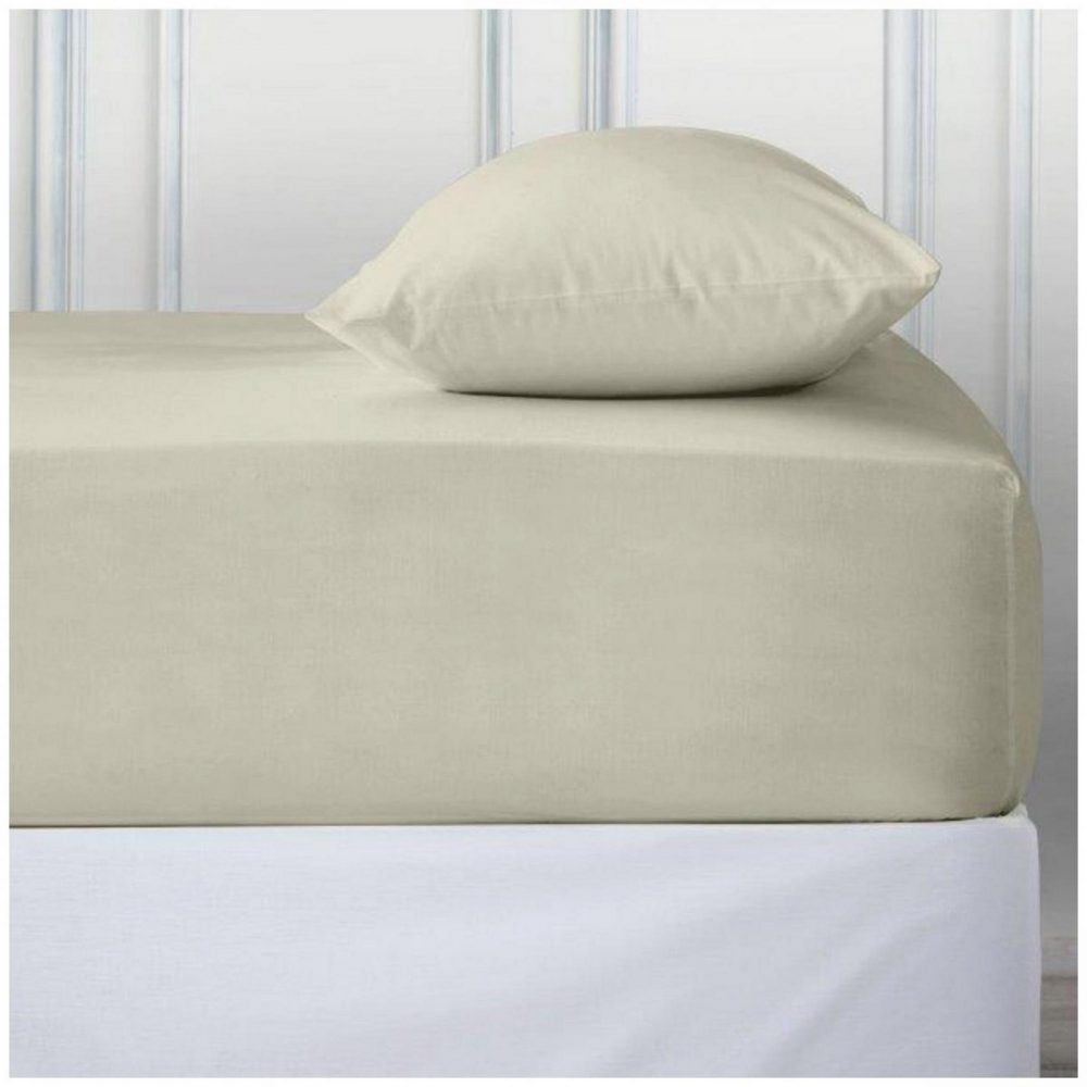 11110743 percale deep ftd sheet double cream 1 2