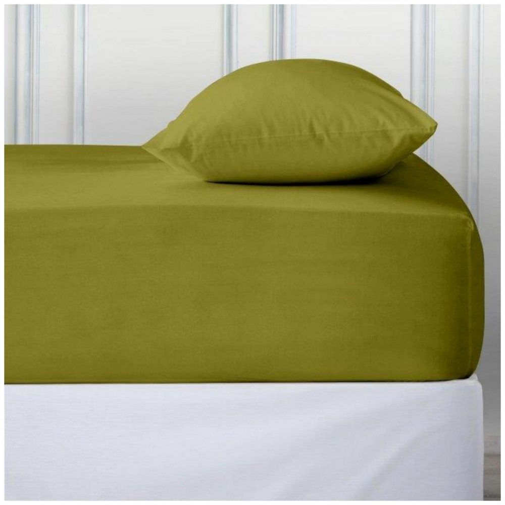 11110774 percale deep ftd sheet double green 1 2