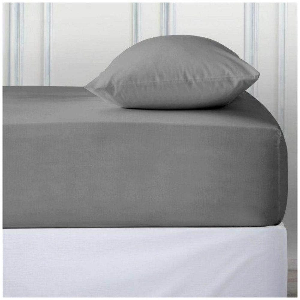 11110835 percale deep ftd sheet double silver 1 2