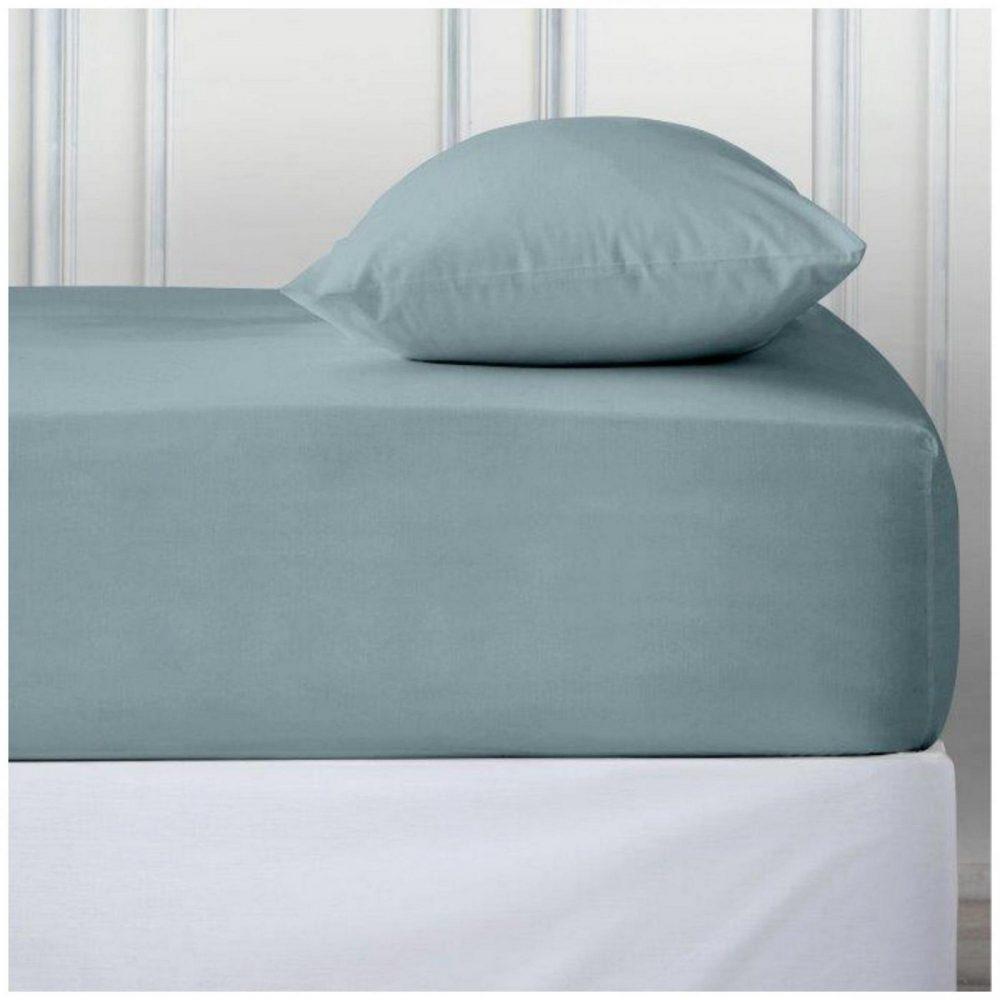 11110842 percale deep ftd sheet double sorbet blue 1 2
