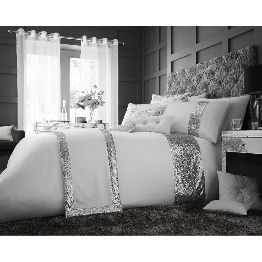 11130581 glamorous duvet set double white 1 2