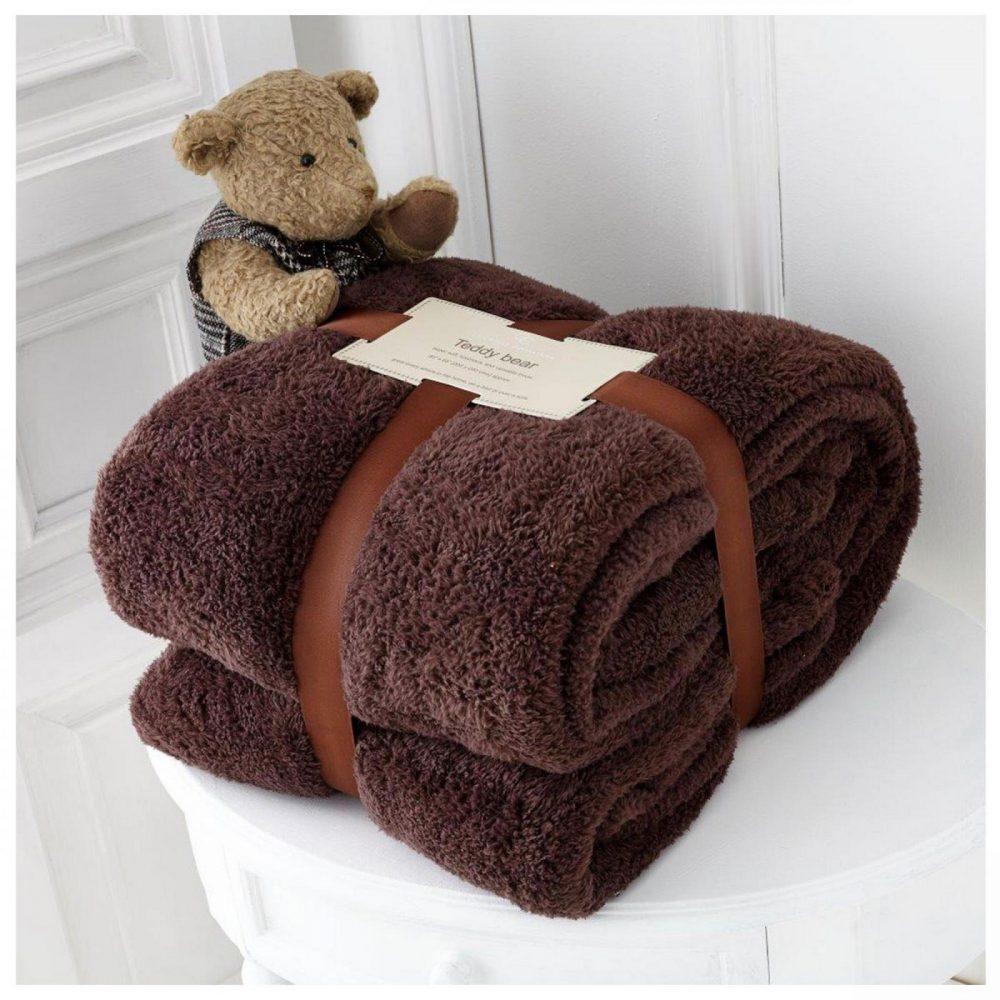 11131403 teddy collection throw 130x180 choco 1 1
