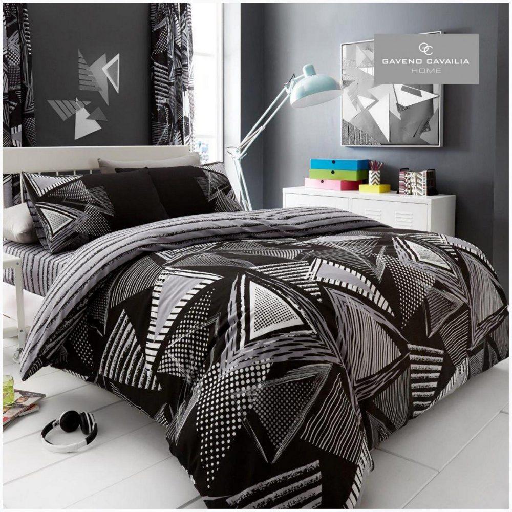 11131632 printed duvet set pop triangle double black 1 2