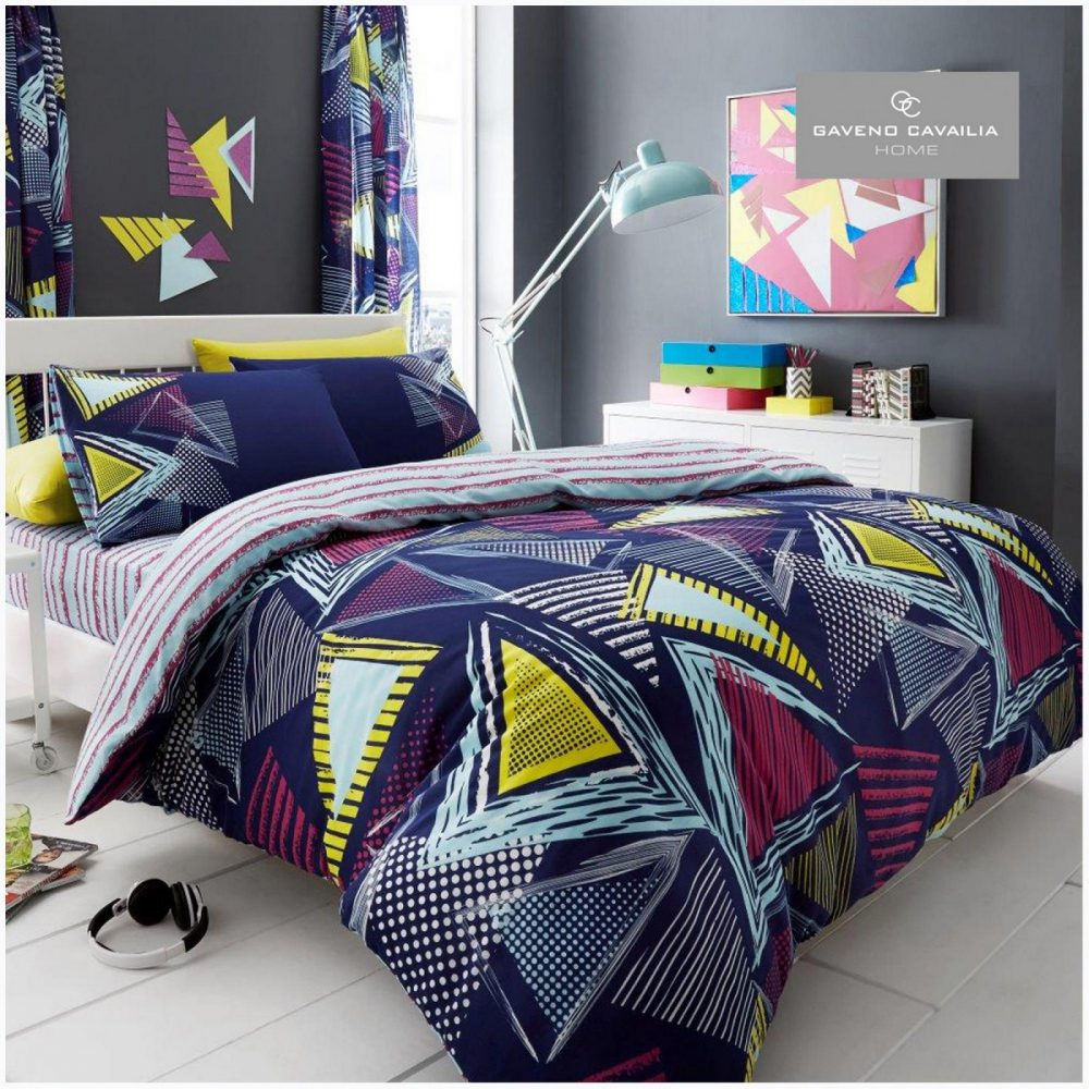 11131687 printed duvet set pop triangle double navy 1 1