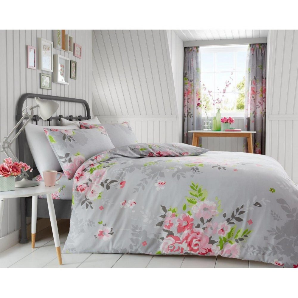 11133162 printed duvet set alice double grey 1 1