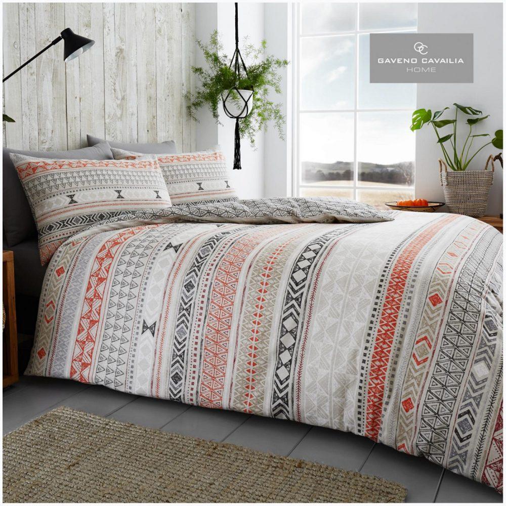 11135890 flannel tribal stripe duvet set double natural 1 2