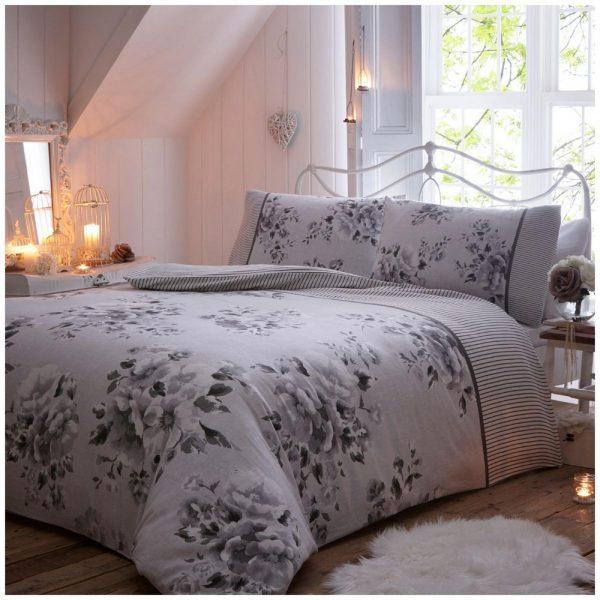 11135937 flannel duvet willow double grey 1 2