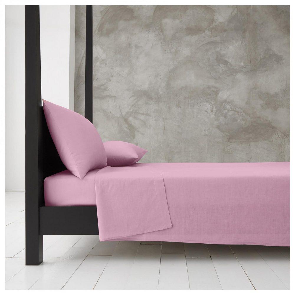 11140955 new diamond flat sheet double pink 1 1