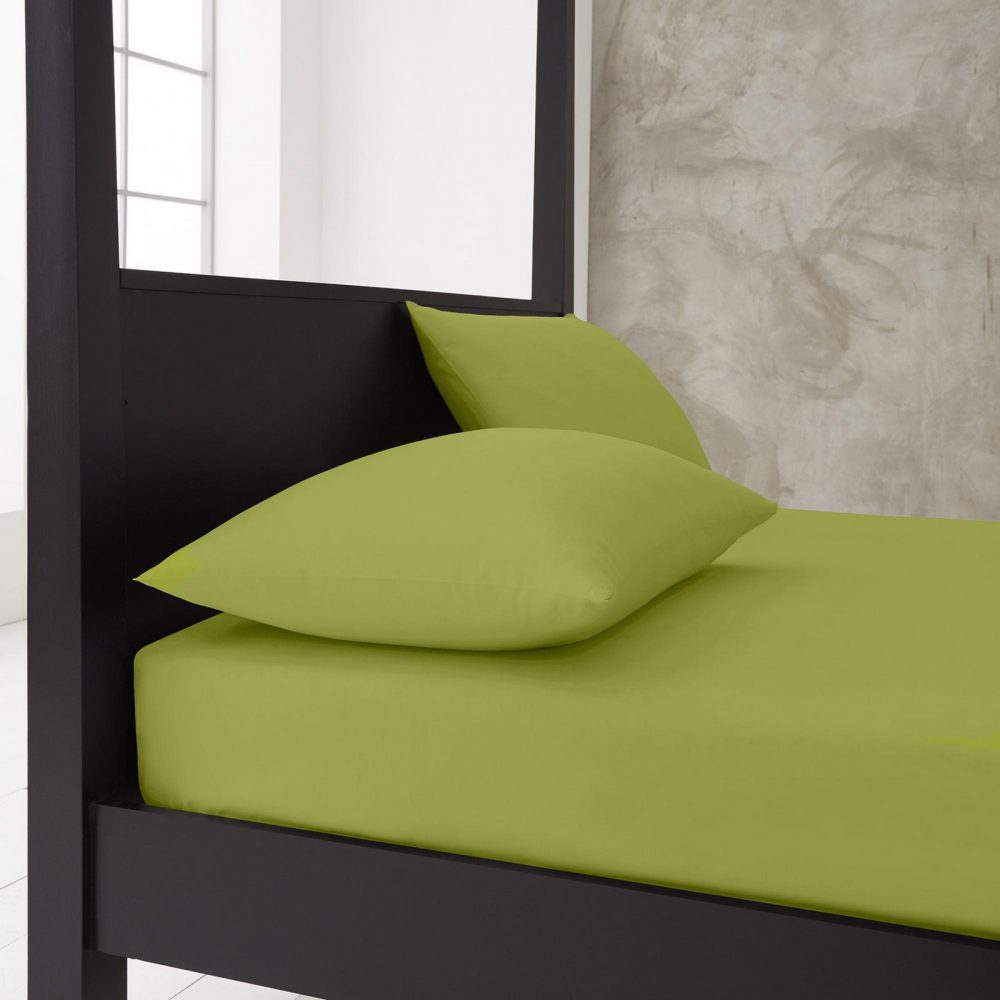 11143888 new diamond housewife pillow case 74x48 lime green 1 1