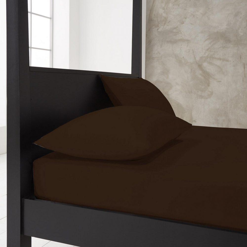 11143895 new diamond housewife pillow case 74x48 chocolate 1 1