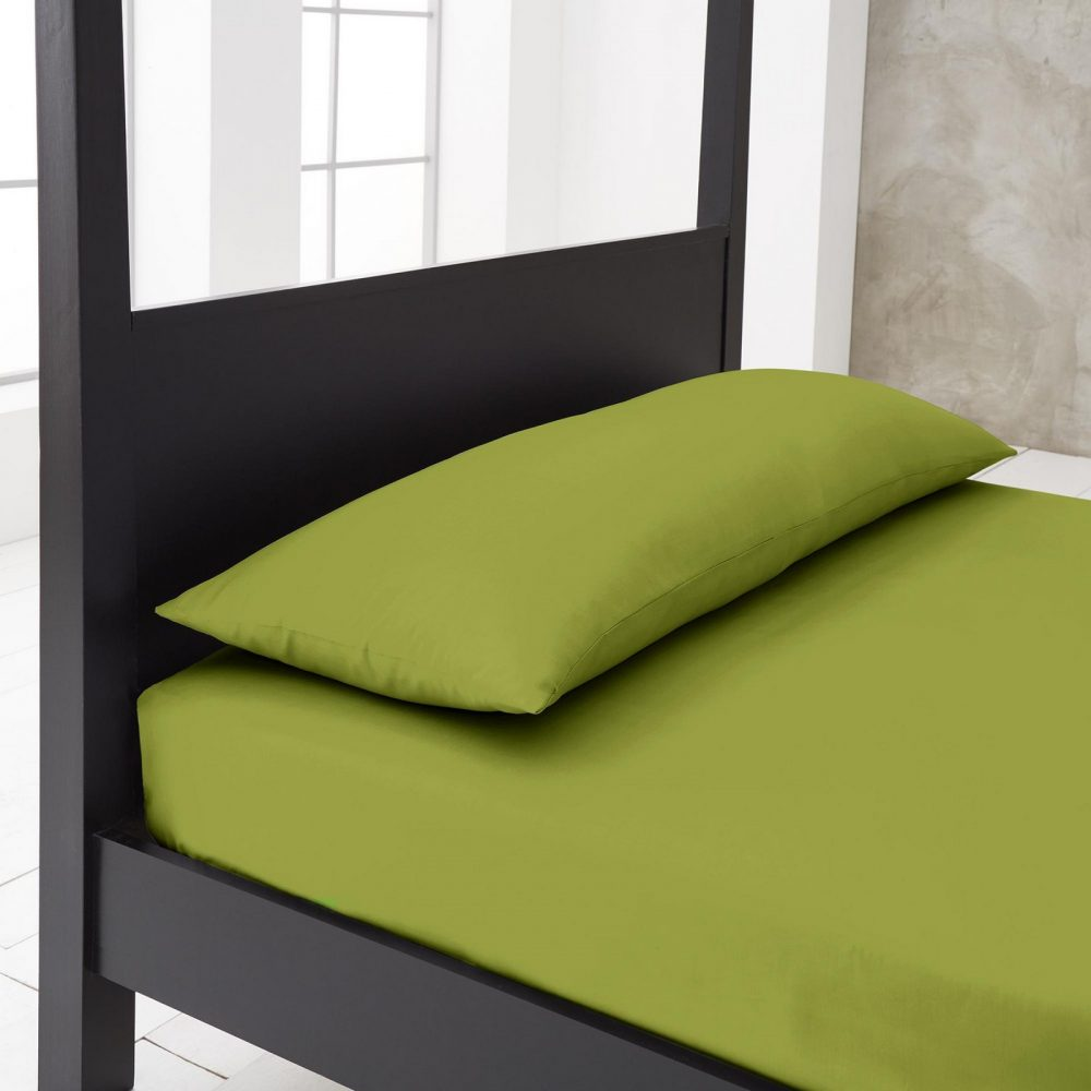 11144724 new diamond bloster pillowcase double lime green 1 1