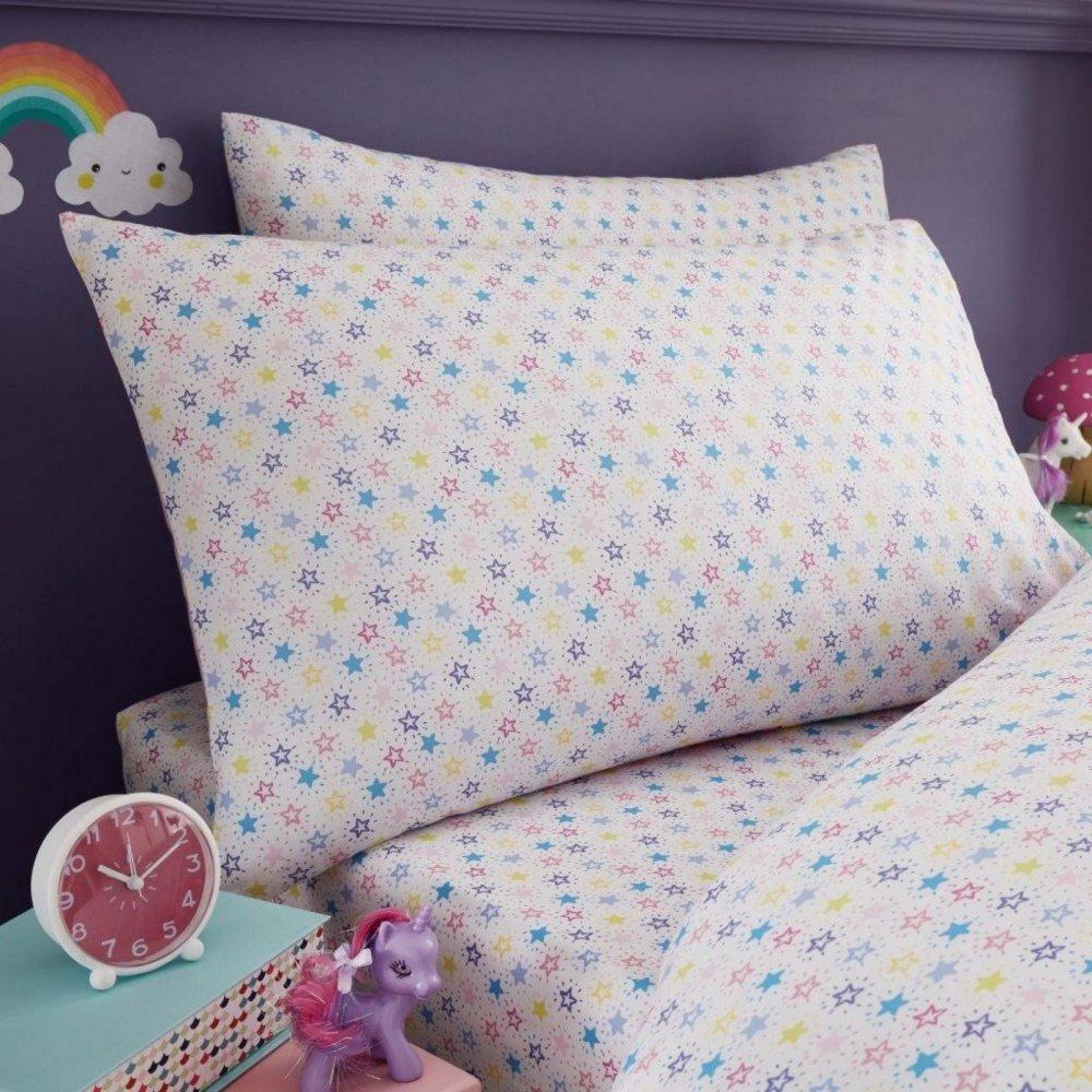 11147336 kids panel sheet set single unicorn 7336 1 1