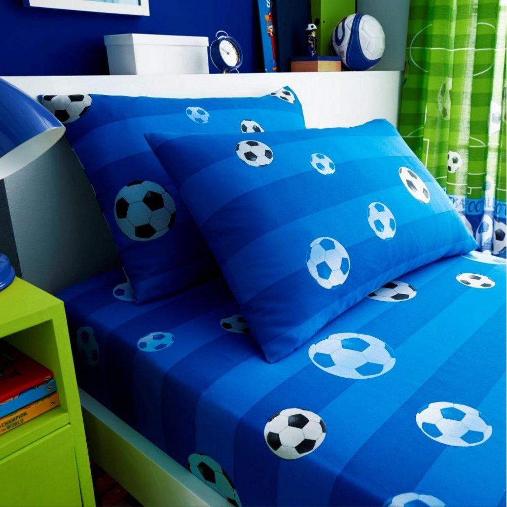 11147350 kids rotary sheet set single goal blue 7350 1 1