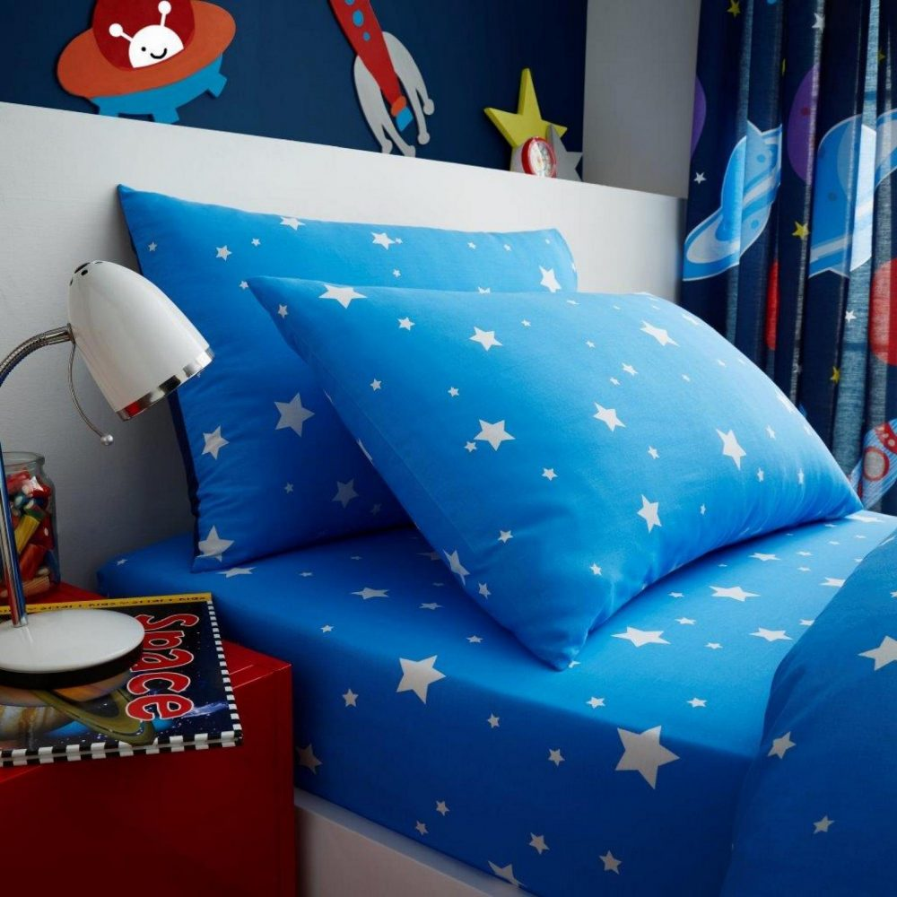 11147381 kids rotary sheet set single outer space 7381 1 1