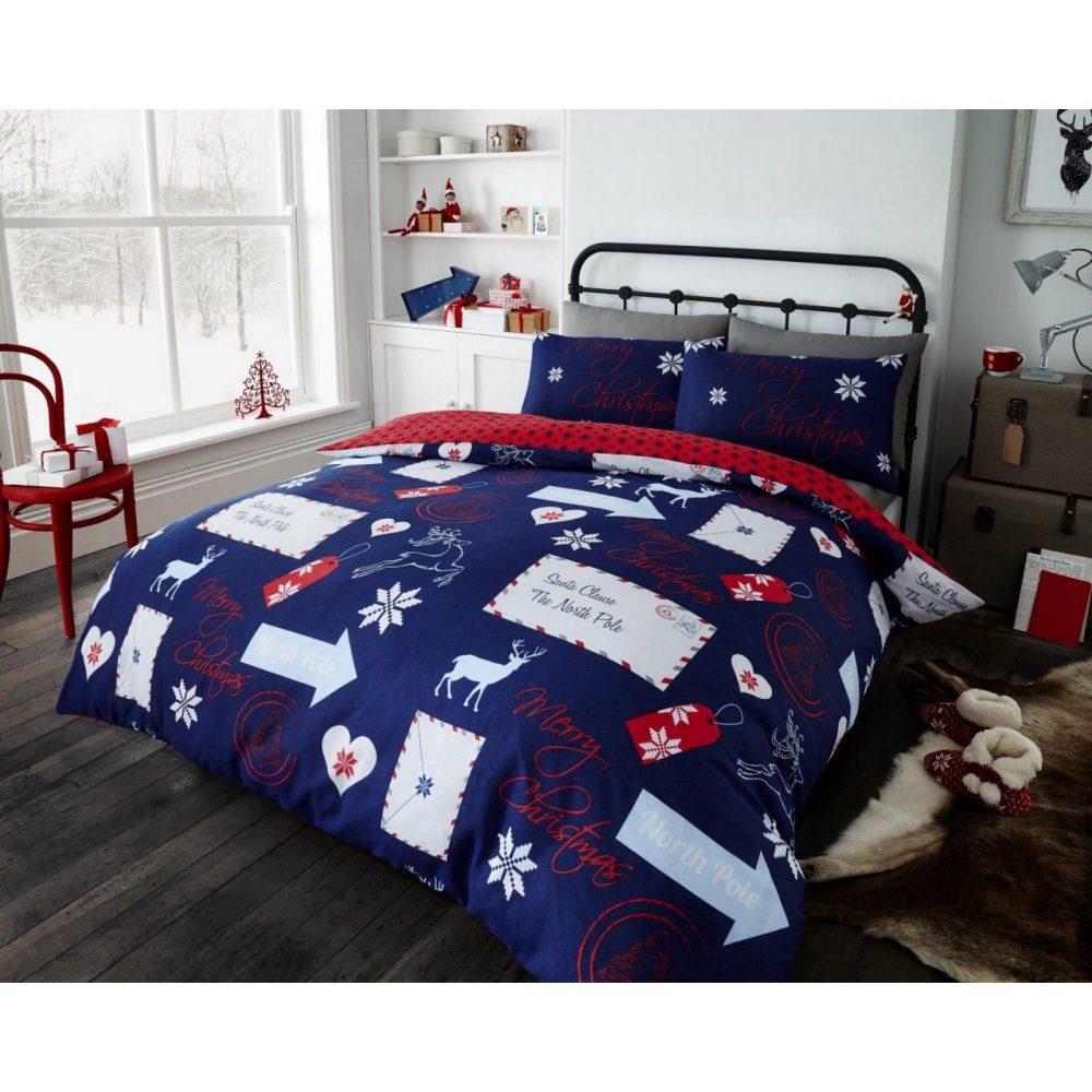 11148715 xmas duvet set santa mail double navy rotary 1 1