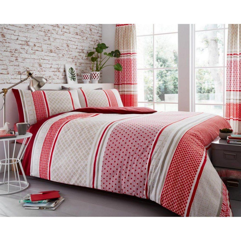 11149613 printed duvet set charter stripe double natural 1 1