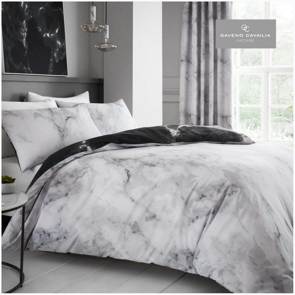 11150855 printed duvet set marble double white 1 1