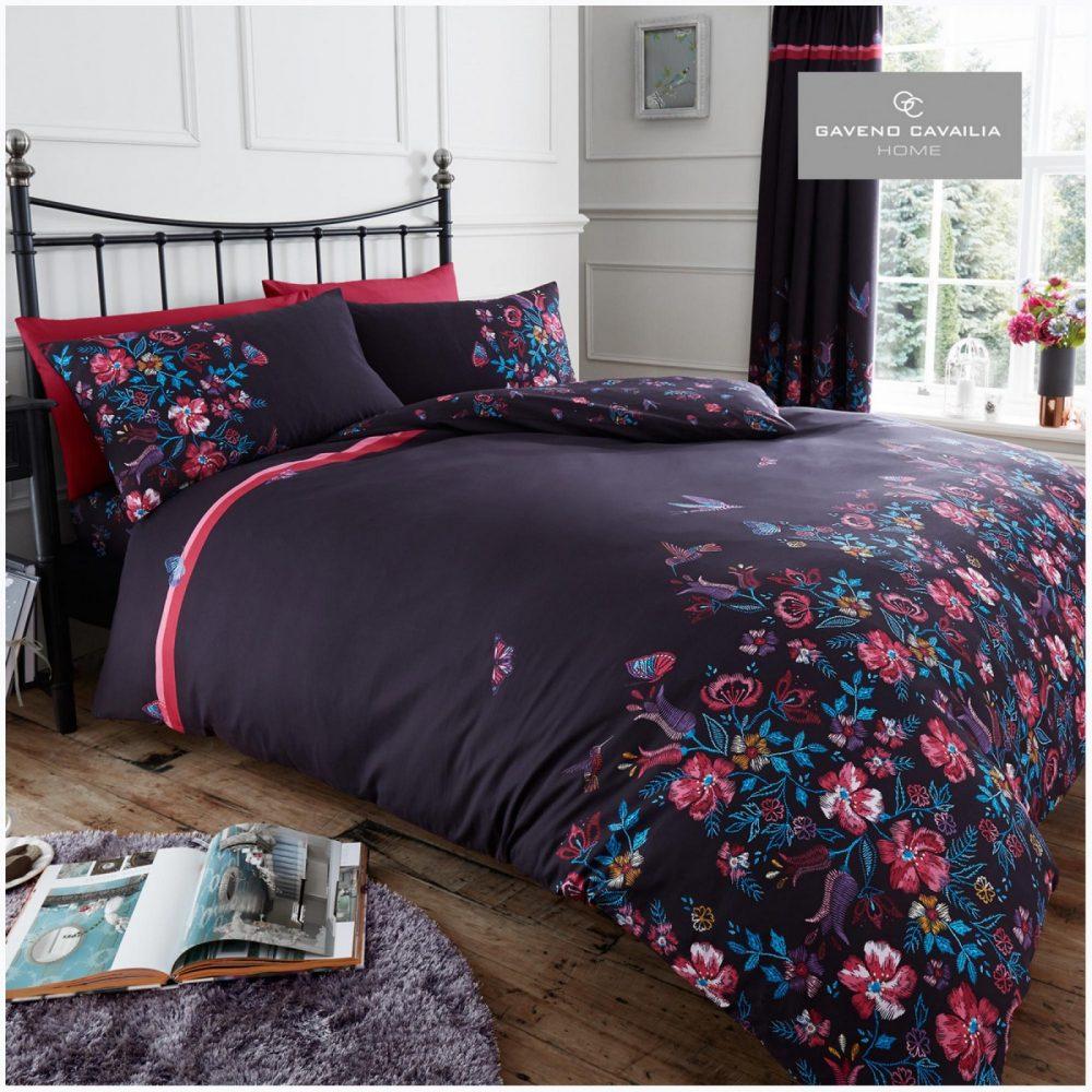 11151333 printed duvet set maria double purple 1 1