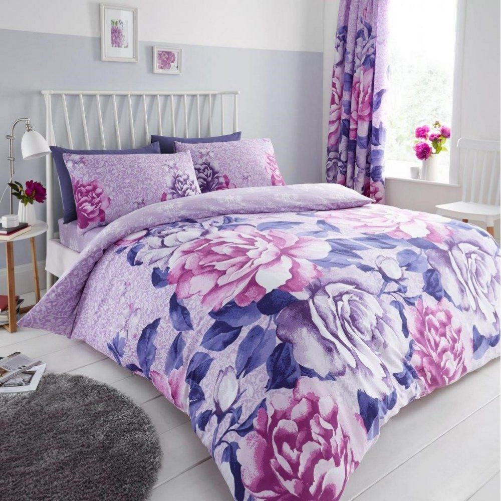 11151968 printed duvet set aubery double purple 1 1
