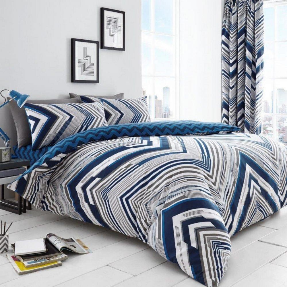 11152033 printed duvet set austin double blue 1 2