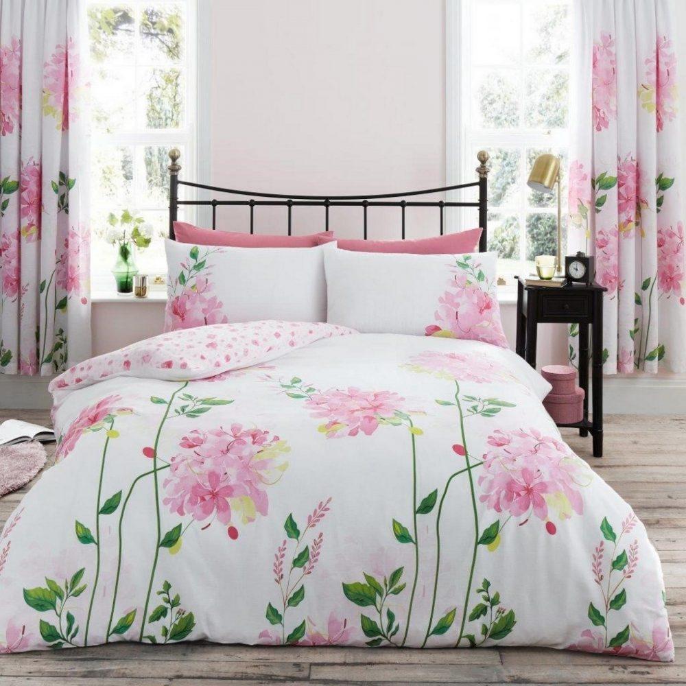 11152316 printed duvet set camila double pink 1 1